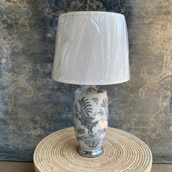 Melanie Vase Lamp & Shade