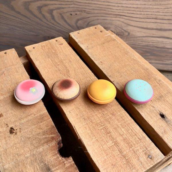 Wooden Macaroon Set