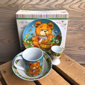 4pc Breakfast Set - Teddy