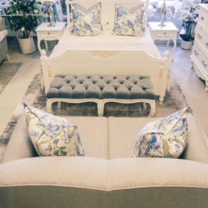 Mardell Bed Set - with Carving